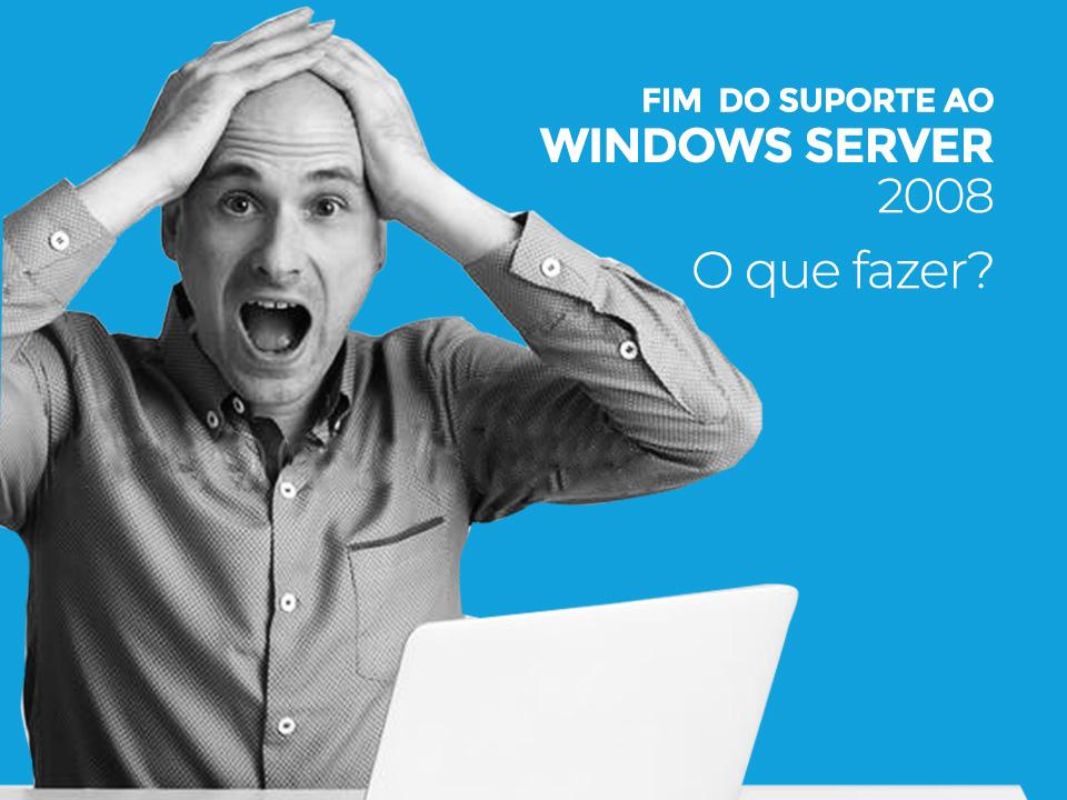 Fim serviço windows server 2008
